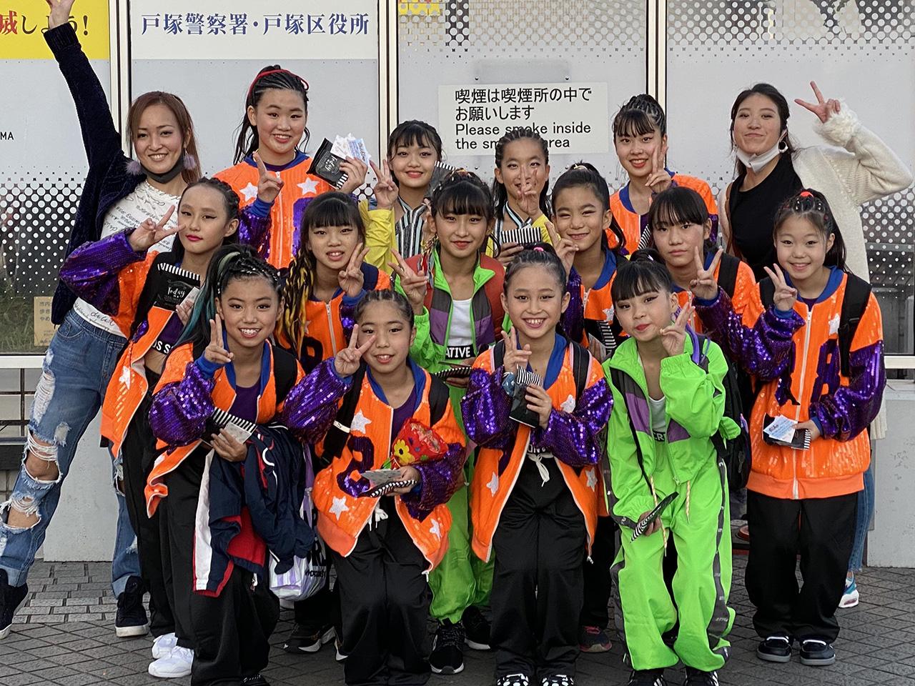ダンススタジオAliy選抜