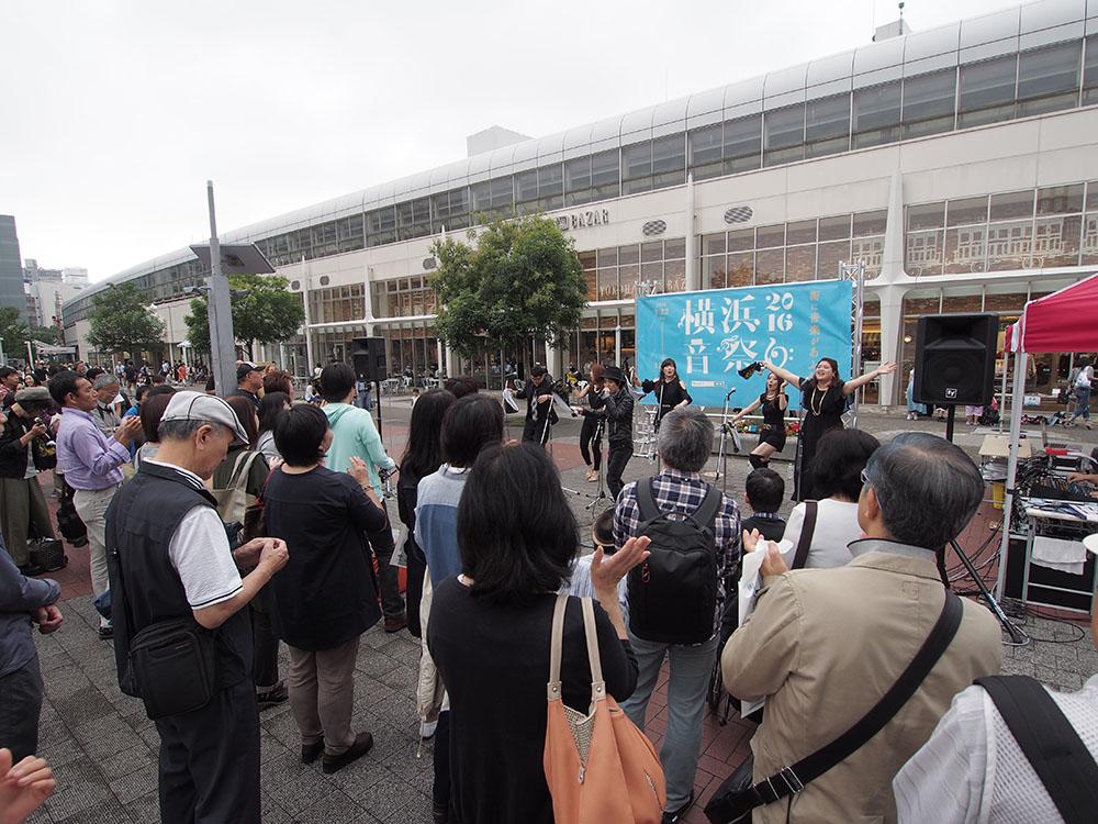 街に広がる音プロジェクト 10/1 桜木町駅前広場