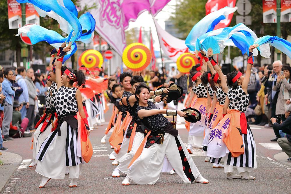 横浜よさこい祭り連携ステージ
