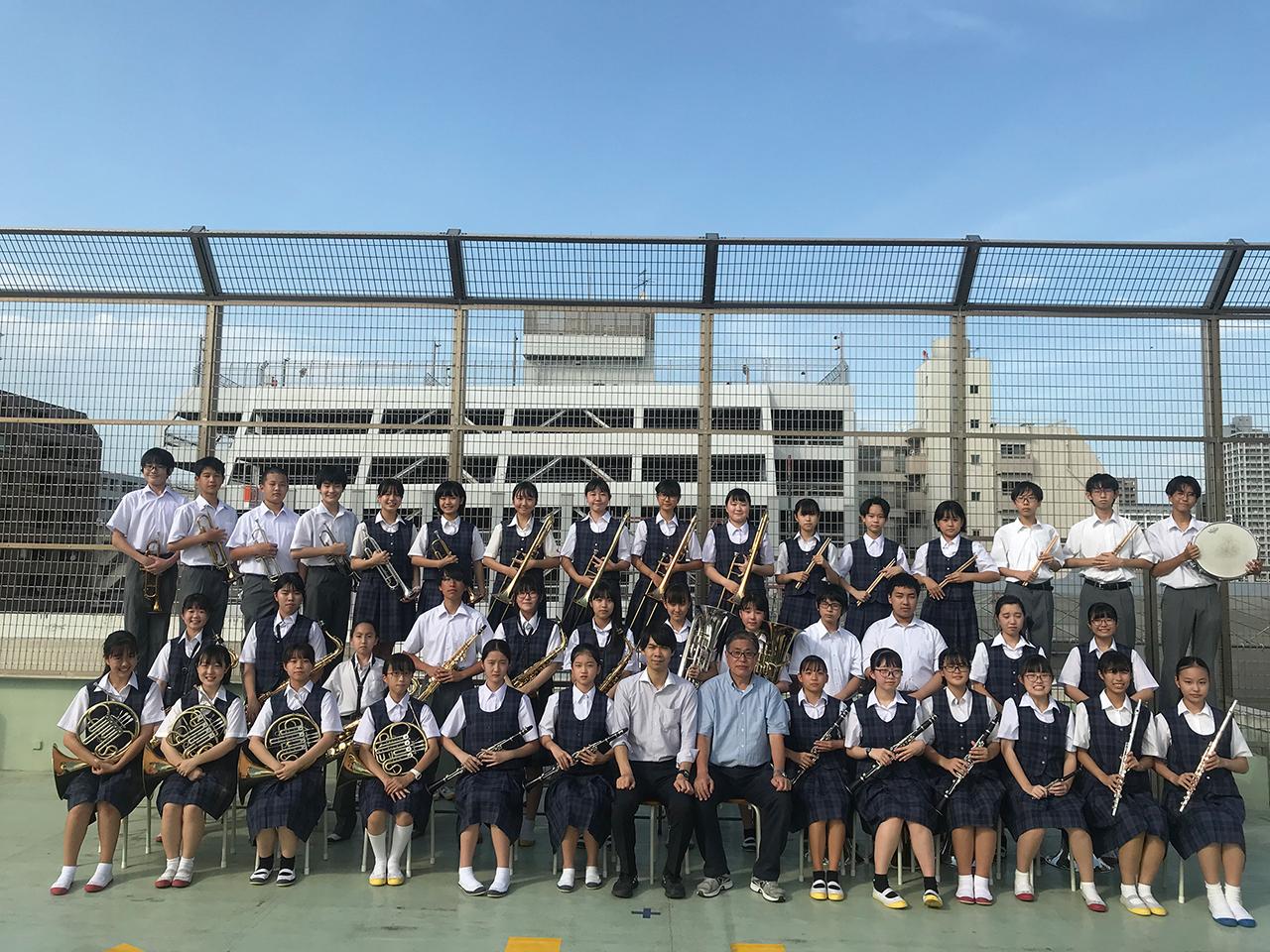 横浜市立港中学校 吹奏楽部