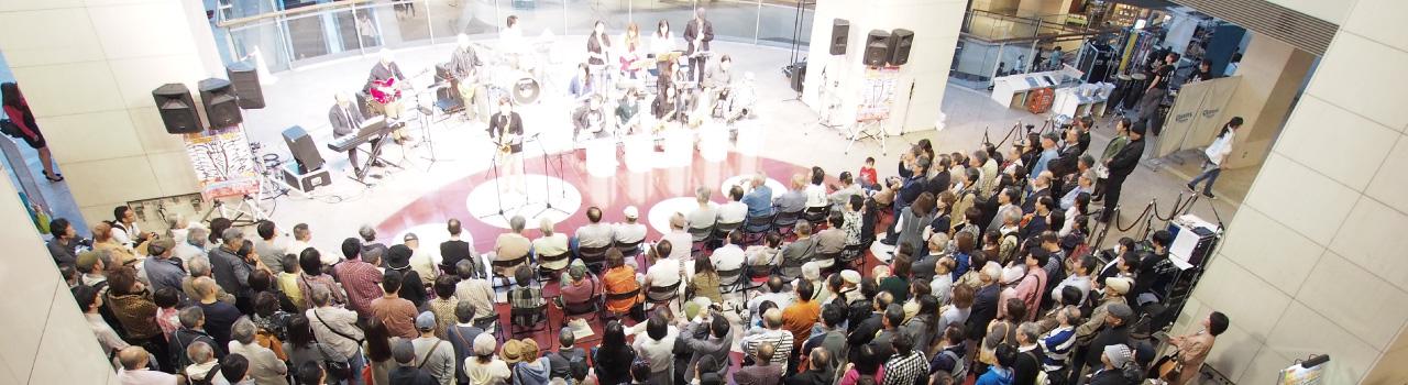 人を、街を、音楽でつなぐ市民団体 NPO法人ARCSHIP イベントを観に行きたい!