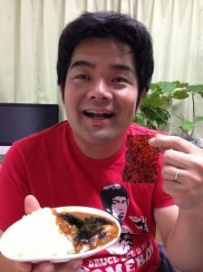 韓国のりカレー実食
